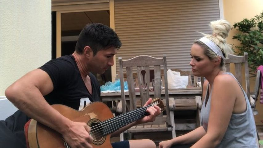 Spontan-Duett: Hier singt Dani Katzenberger mit ihrem Lucas!