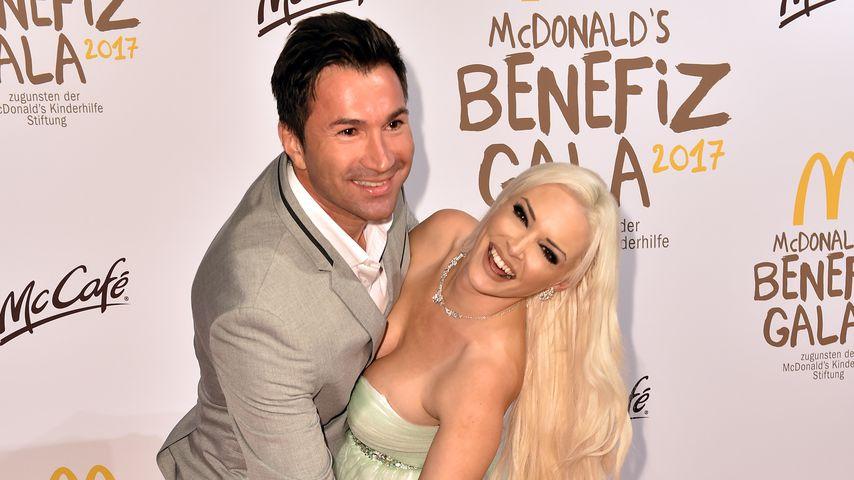 Lucas Cordalis und Daniela Katzenberger bei der McDonald's Charity Gala