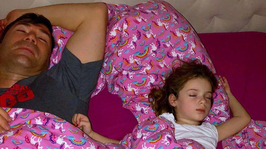 Lucas und Sophia Cordalis beim Schlafen