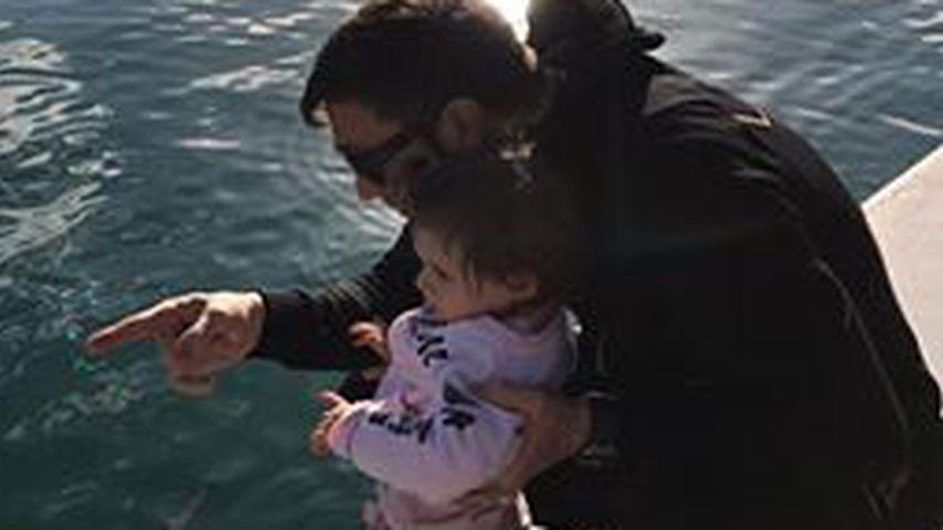 Lucas Cordalis und Tochter Sophia auf Mallorca