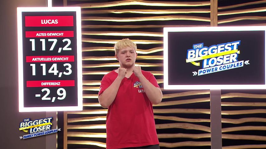 "Lucas bei ""The Biggest Loser"""