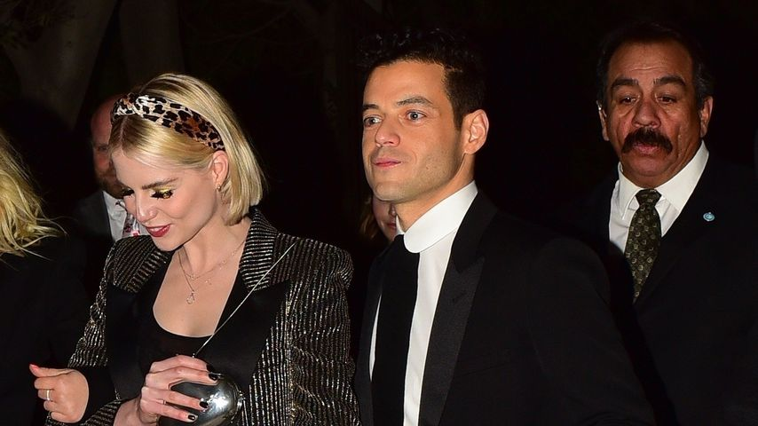 Lucy Boynton und Rami Malek am 4. Januar in Los Angeles