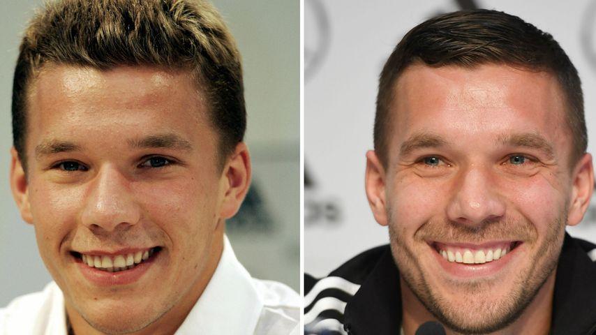 Poldi wird 35! So hat sich der legendäre Kicker verändert