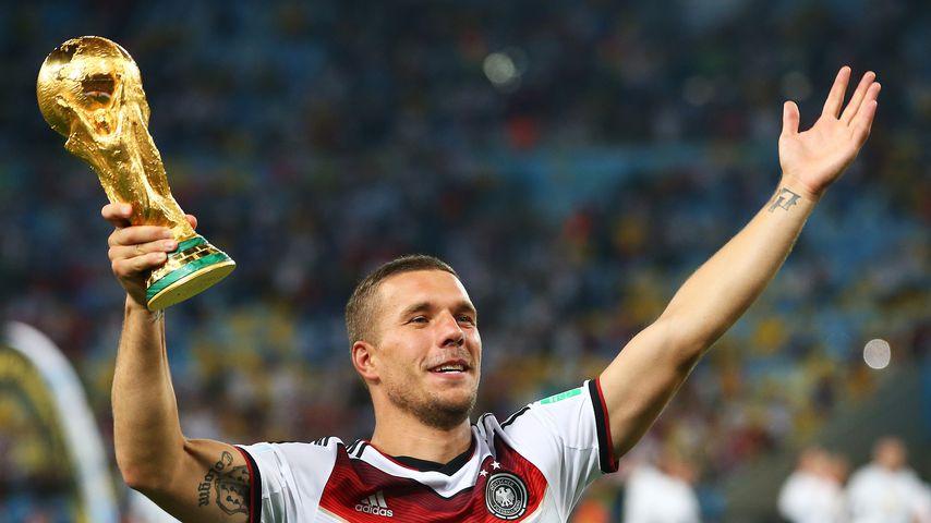Stolz statt Trauer: Lukas Podolski postet coolen Throwback