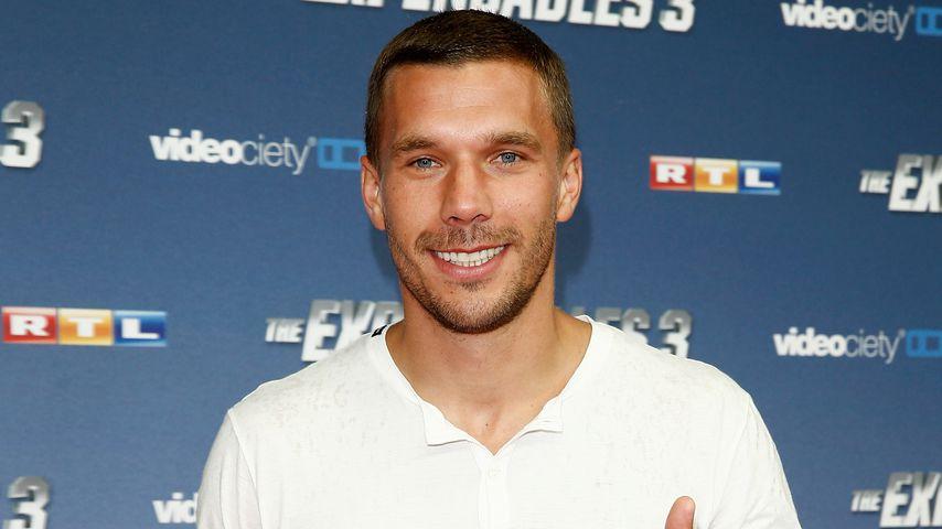 Mit Kölsch & Co.: Lukas Podolski eröffnet eigene Eisdiele!