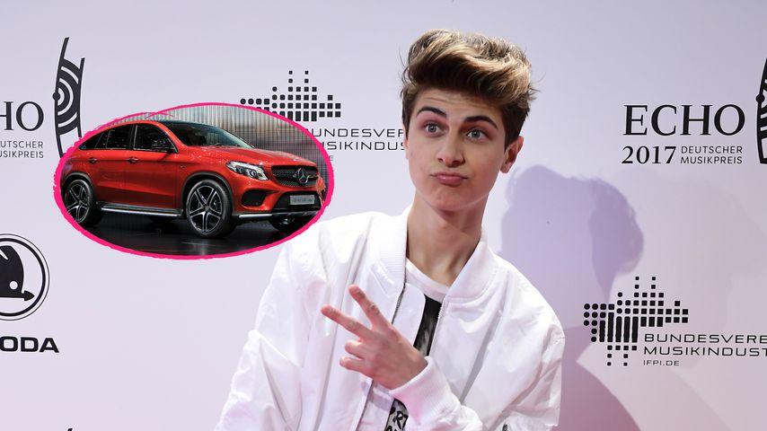 Luxuskarre mit 18: YouTuber Lukas Rieger will Benz fahren!