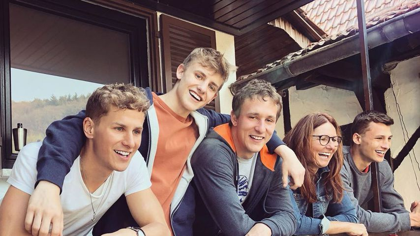 Lukas Sauer und seine Familie in Rheinland-Pfalz