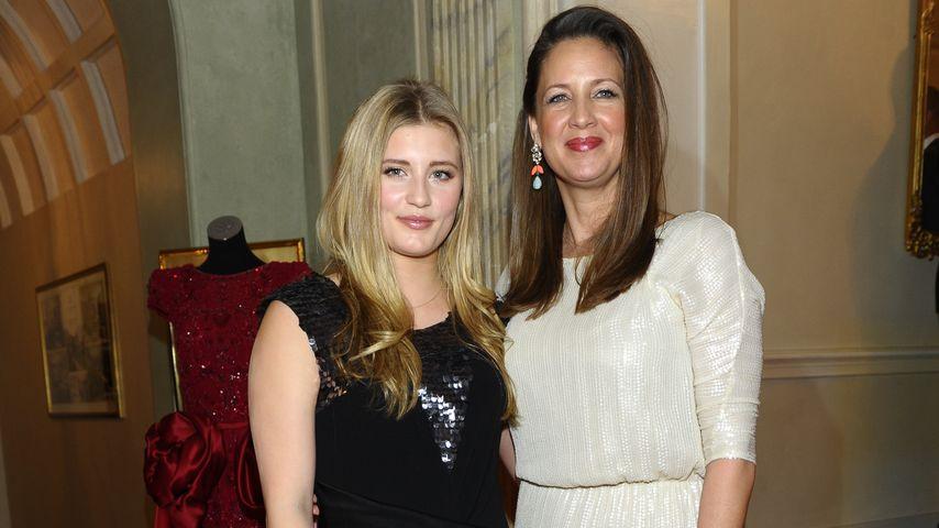 Luna und Dana Schweiger bei den Gala Spa Awards 2014