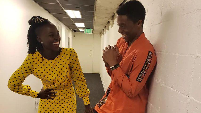 Lupita Nyong'o und Chadwick Boseman