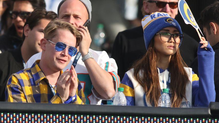 """Nicht """"allein zu Haus"""": Macaulay Culkin mit Brenda unterwegs"""