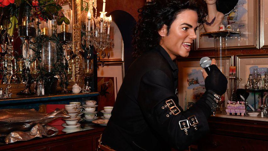 Wachsfigur von Michael Jackson im August 2016 bei Madame Tussauds in Washington D.C.