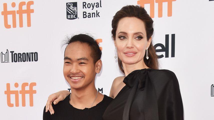 Maddox Jolie-Pitt mit Mama Angelina Jolie beim Toronto International Film Festival 2017