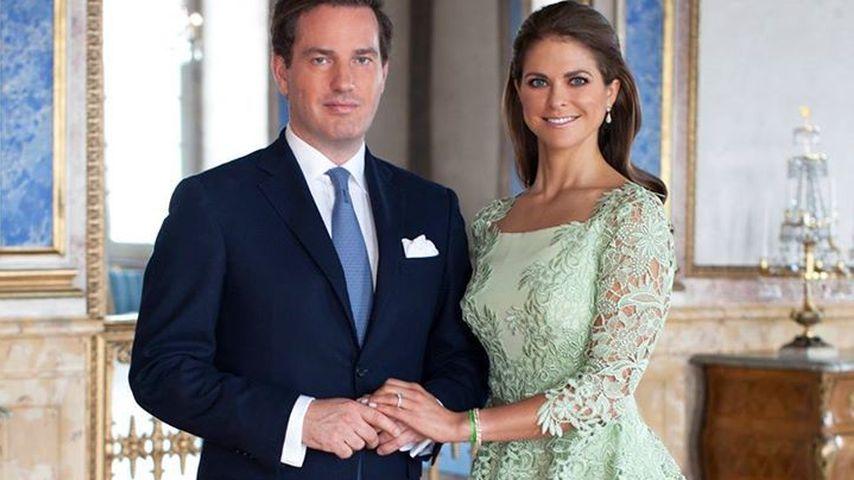 Chris O'Neill und Madeleine von Schweden