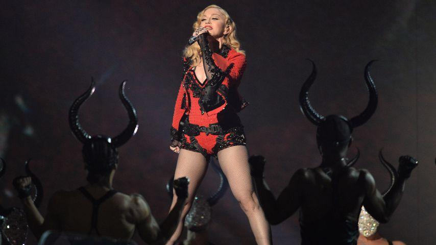 Madonna bei einem Auftritt 2015