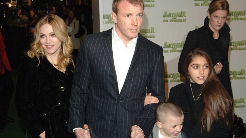 Madonna feierte das Fest der Liebe mit Guy Ritchie