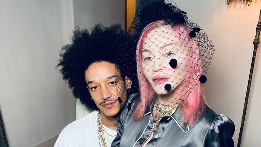 Madonna mit ihrem Freund Ahlamalik Williams