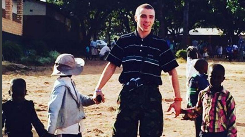 Madonna-Sohn Rocco Ritchie mit Waisenkindern in Malawi