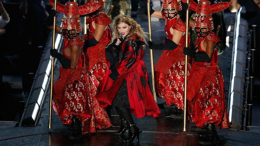 """Madonna während ihrer """"Rebel Heart""""-Tour"""