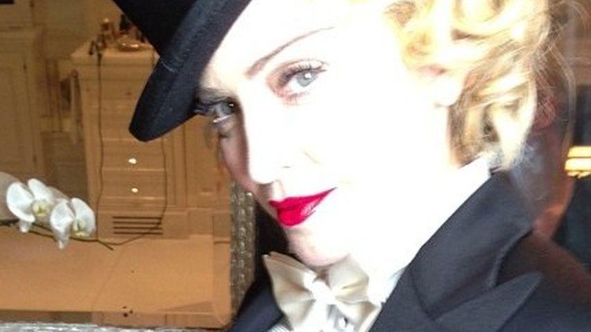 Madonna überrascht im Männer-Outfit