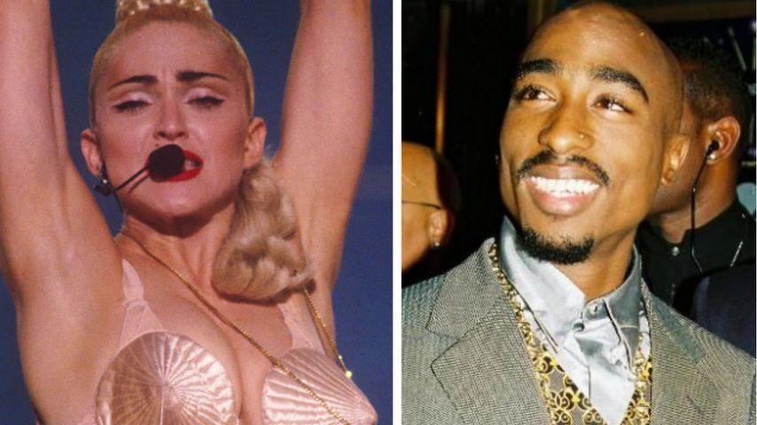"""Madonna gesteht: """"Ich hatte eine Affäre mit 2Pac"""""""