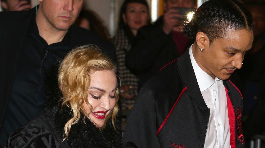 Madonna und Ahlamalik Williams