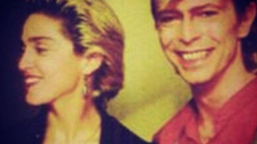 Abschied von David Bowie (✝69): Rührende Worte von Madonna
