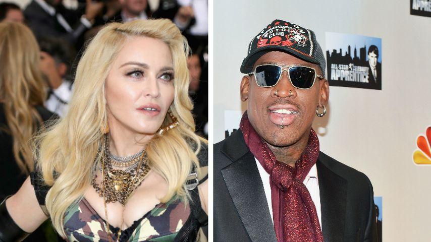 Madonna bot Dennis Rodman 20 Millionen Dollar für ein Baby