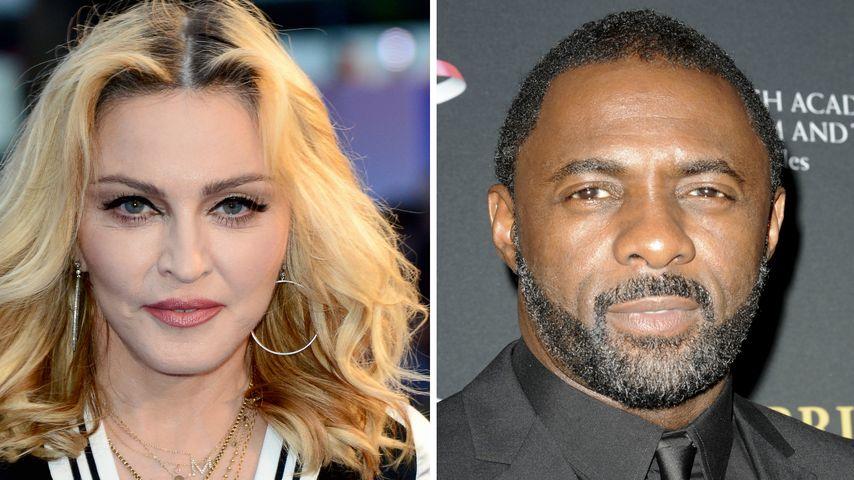 Neues Paar? Madonna & Idris Elba beim Knutschen erwischt!