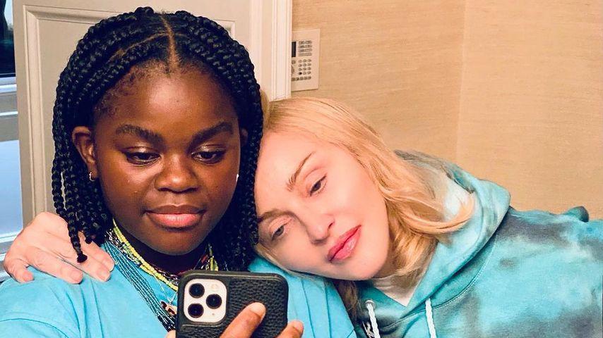 Coole Mama! Madonna geht mit Tochter Mercy in Skatepark