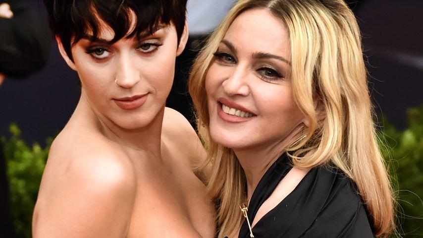 Madonna und Katy Perry