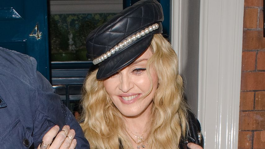 Madonna unterwegs in London