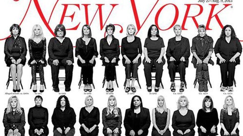 Was? 35 Bill-Cosby-Anklägerinnen zusammen auf Magazin-Cover