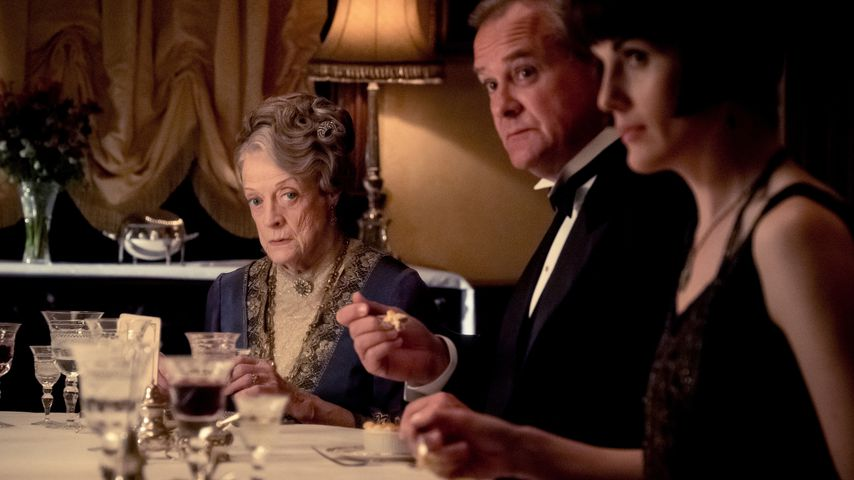 "Maggie Smith, Hugh Bonneville und Michelle Dockery in ""Downton Abbey"""