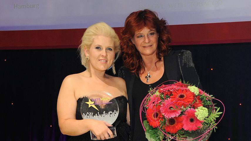 Maite Kelly und Andrea Berg, Februar 2012