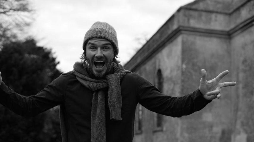David Beckhams Bday: So süß gratuliert die ganze Family