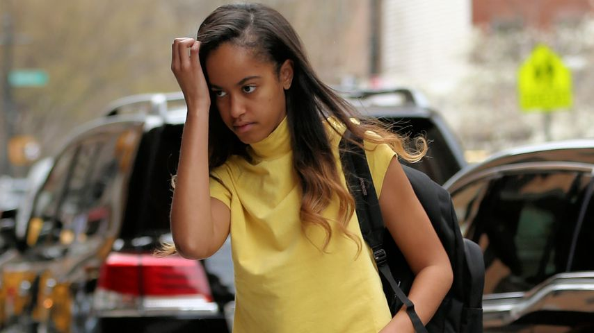 Malia Obama in New York City