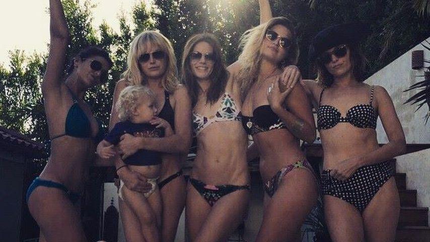 So sexy feiert Malin Akerman den 2. Geburtstag ihres Sohnes