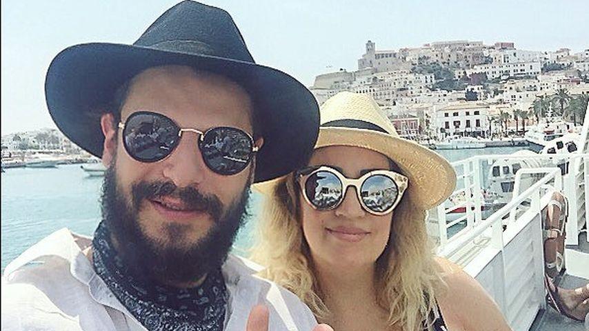 Manuel Cortez und Freundin Miyabi auf Ibiza