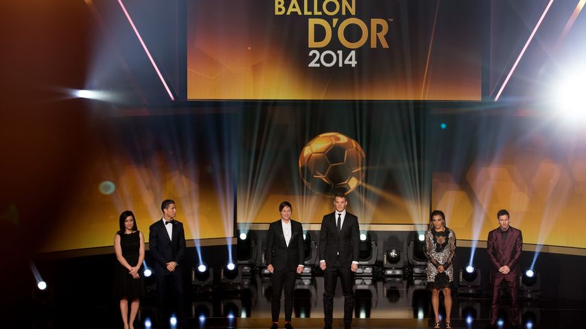 Cristiano Ronaldo, Manuel Neuer und Lionel Messi