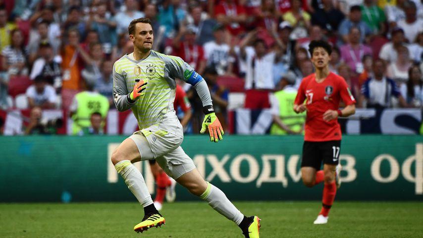 Manuel Neuer beim WM-Spiel Deutschland gegen Südkorea