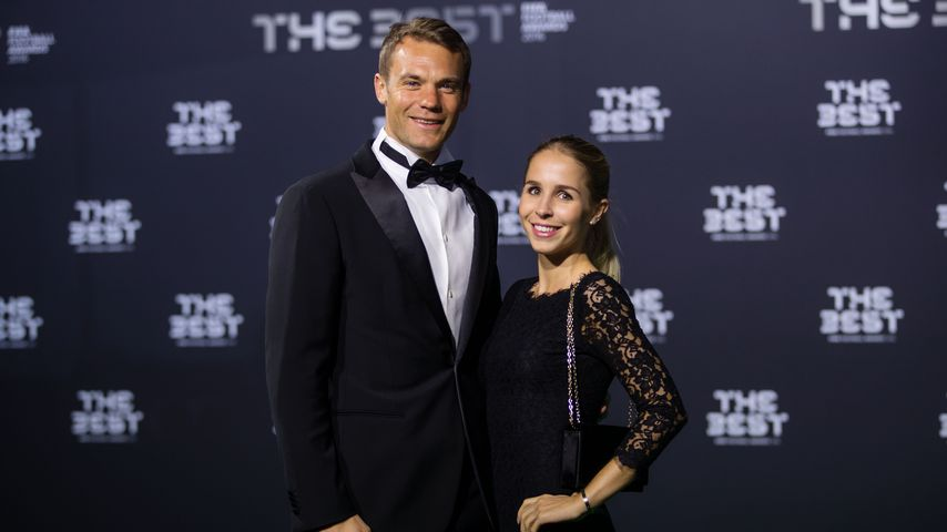 Manuel und Nina Neuer bei den The Best FIFA Football Awards 2017