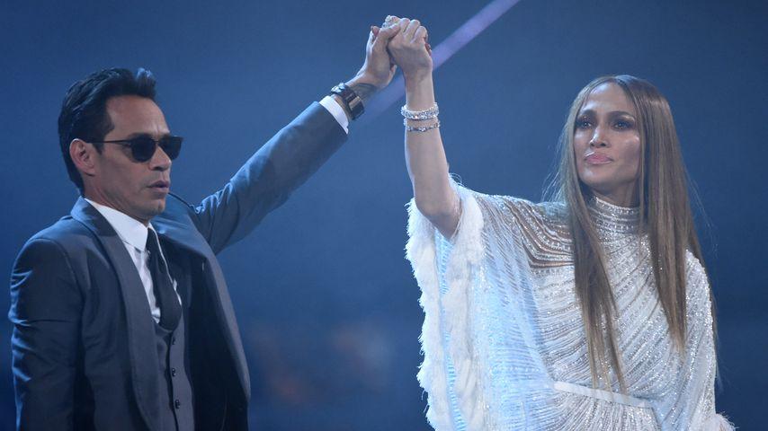 "Marc Anthony & Jennifer Lopez bei den ""Grammy Awards"" in Las Vegas"