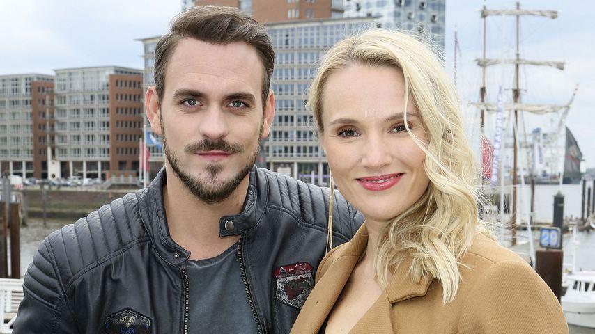 Marc Barthel und Anna Hofbauer in Hamburg, April 2019