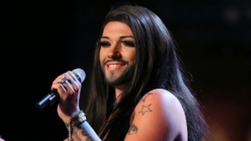 Das Supertalent: Was macht Conchita Wurst denn da?