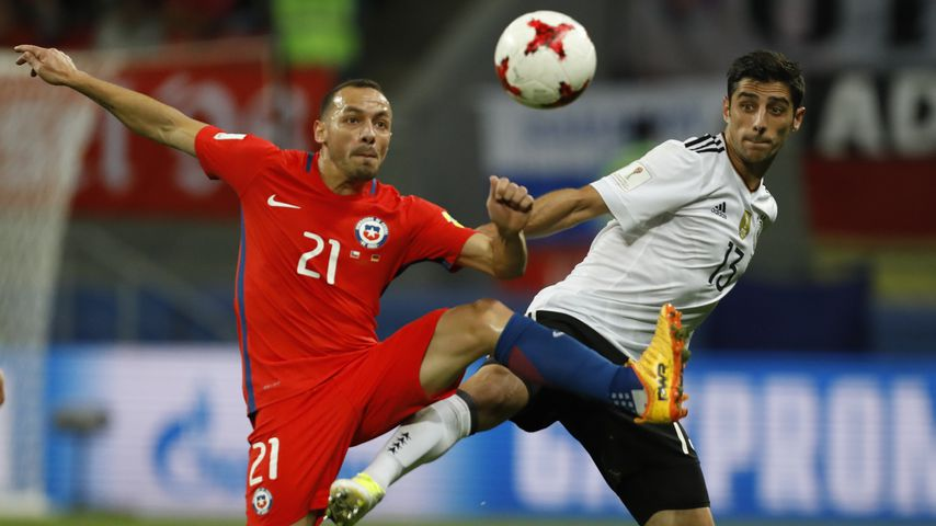 Marcelo Diaz beim Confed-Cup in Russland