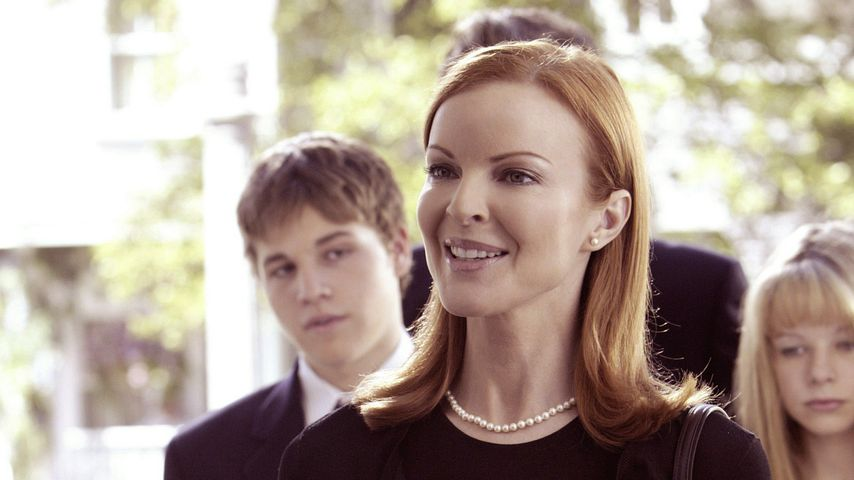 "Shawn Pyfrom, Marcia Cross und Joy Lauren in ""Desperate Housewives"""