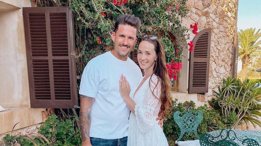 Marco Cerullo und Christina Graß im Juli 2020 auf Mallorca
