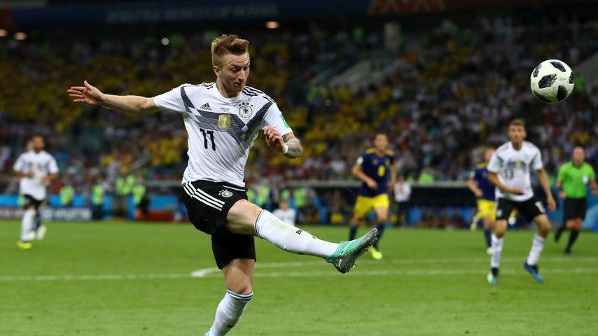 Marco Reus während des WM-Spiels zwischen Deutschland und Schweden