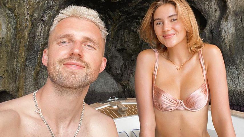 Im Bikini: Stefanie Giesinger macht Marcus Liebeserklärung