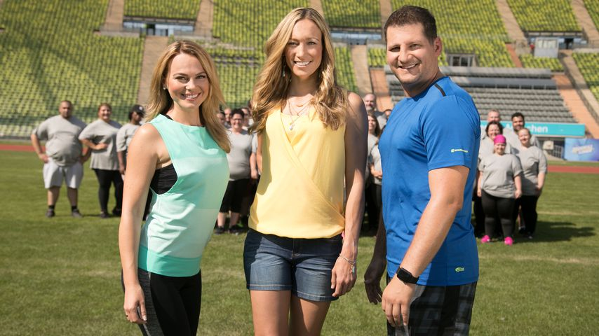 "Mareike Spaleck, Christine Theiss und Ramin Abtin bei ""The Biggest Loser"""
